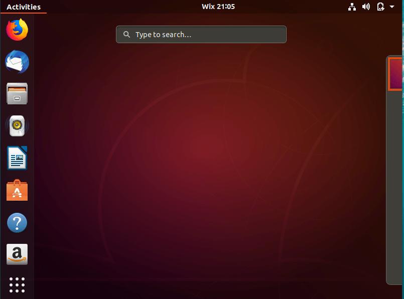 Ubuntu método abreviado de teclado
