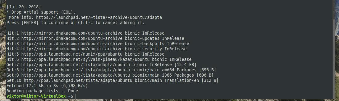 Instalar Theme Adapta en Ubuntu