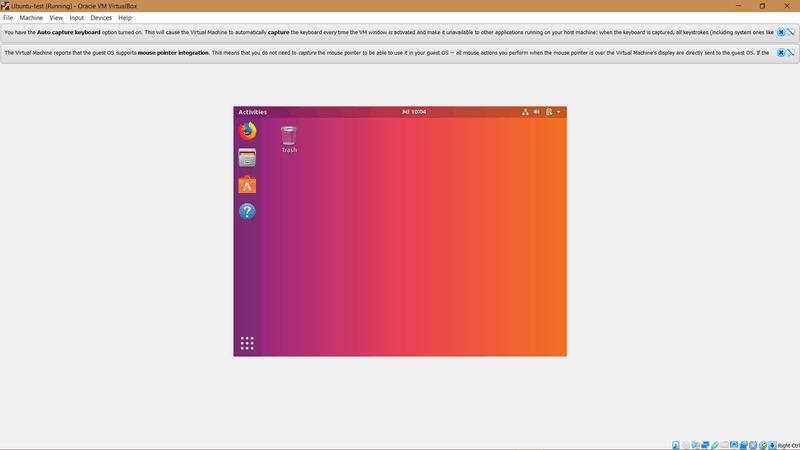VirtualBox Máquina Virtual Con Ubuntu