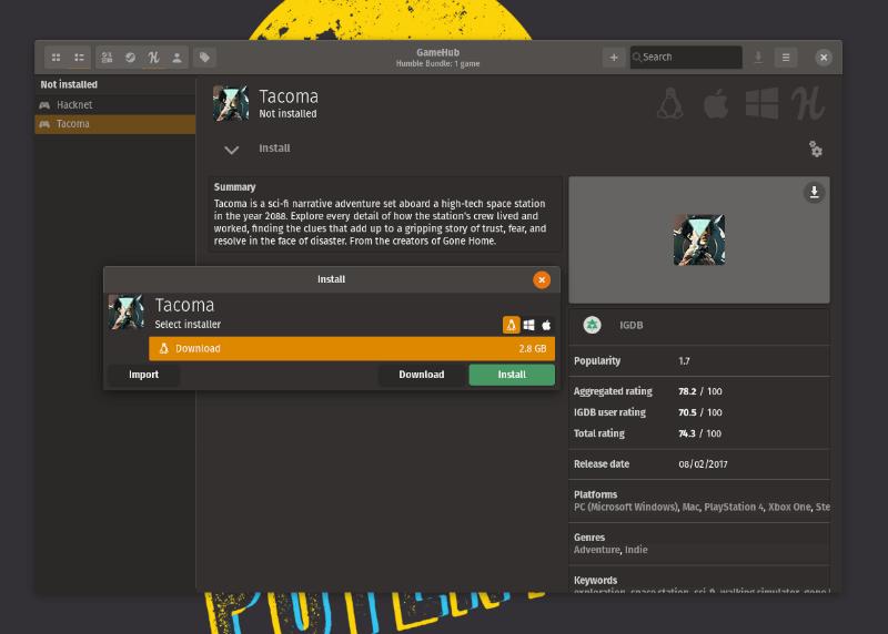 Gamehub Instalación De Linux
