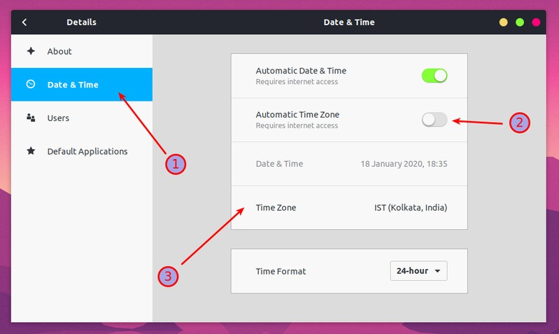 Cambiar La Zona Horaria En Ubuntu