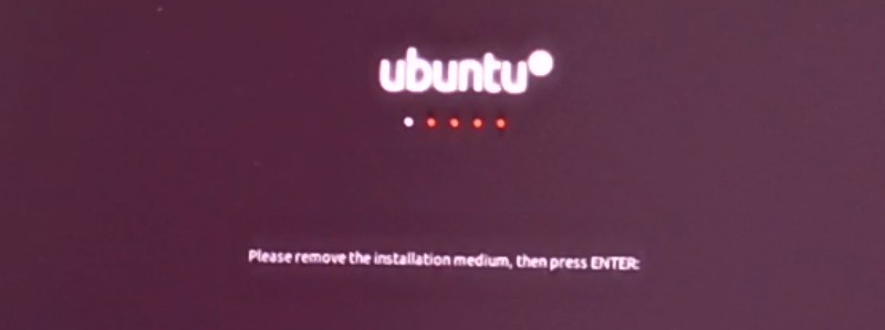 Finalizada La Instalación De Ubuntu