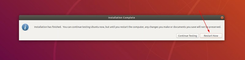 Terminado de instalar Ubuntu Linux