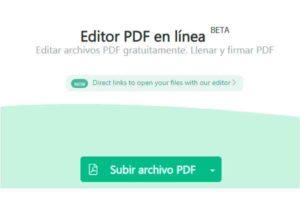 Sejda PDF Editor, modificar pdf, editor pdf sejda