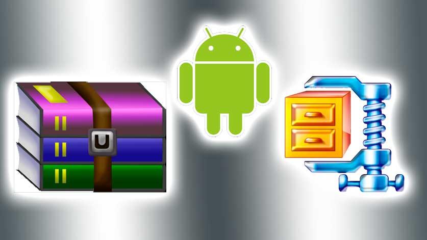 como abrir rar en android, rar for android