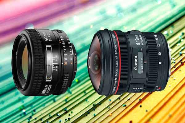 lentes para cámaras de video