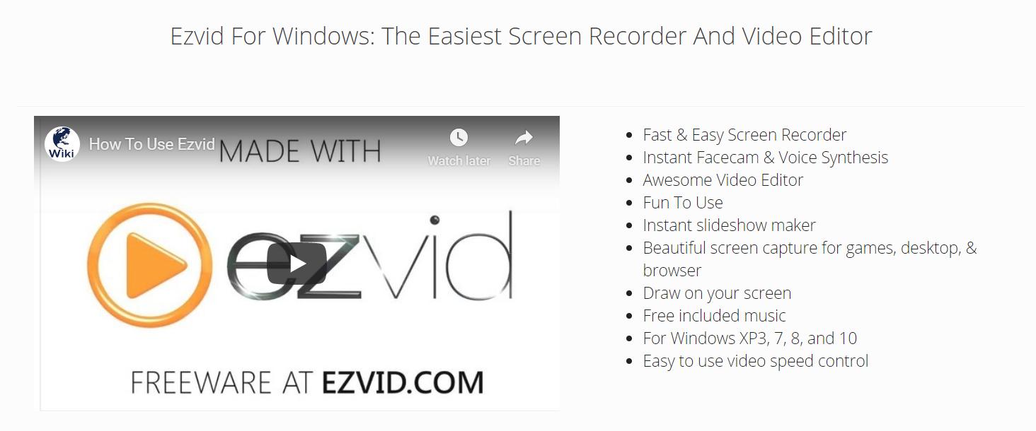 EZVid Recorder