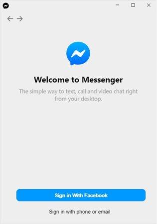 Facebook Desktop App for PC