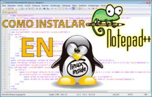Notepad plus plus linux