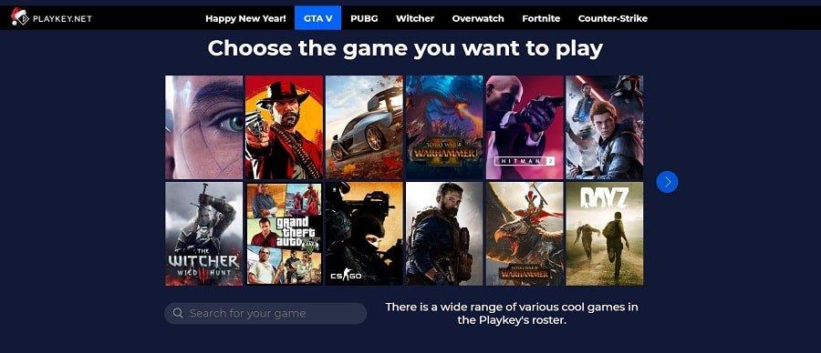Playkey.net Cloud Gaming Companies 1