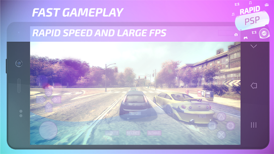 Rápido-PSP-Emulator
