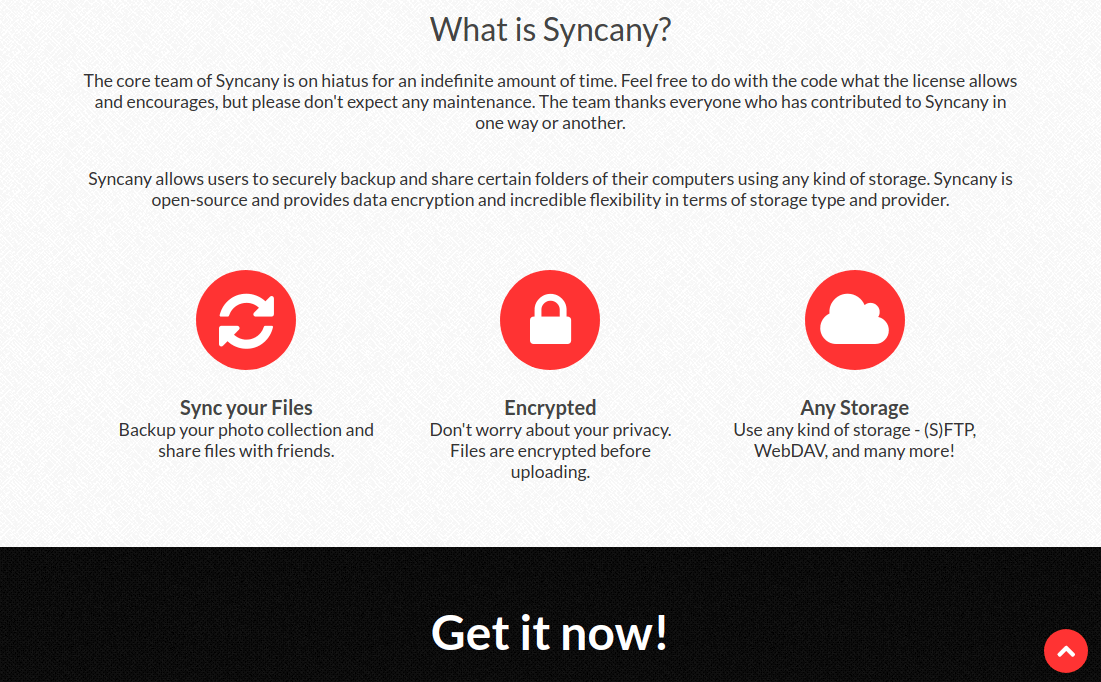Syncany Secure File Sync Software
