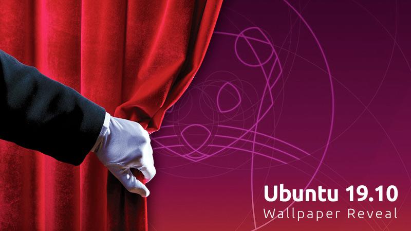 Ubuntu 19.10 wallpaper reveal