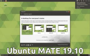 Ubuntu MATE 19.10 desktop screenshot