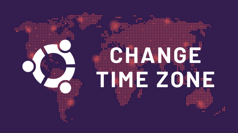 Ubuntu Change  Time Zone
