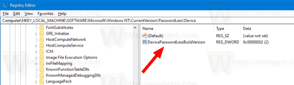 Windows 10 Habilitar sin contraseña iniciar sesión En Ajustar