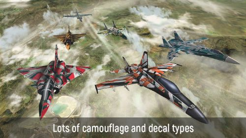 Alas ofWar Modernos Aviones de combate