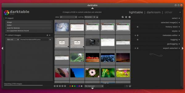 darktable ubuntu