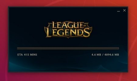 downloading lol