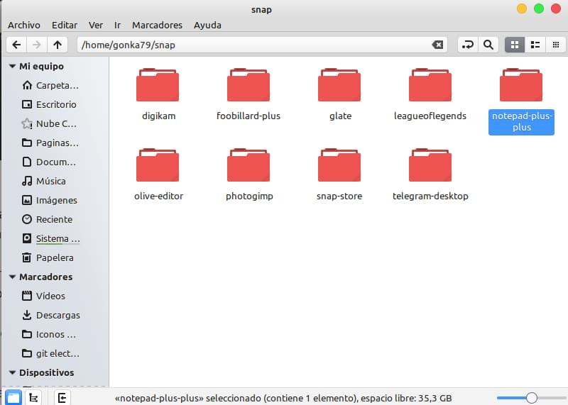 eliminar config notepad