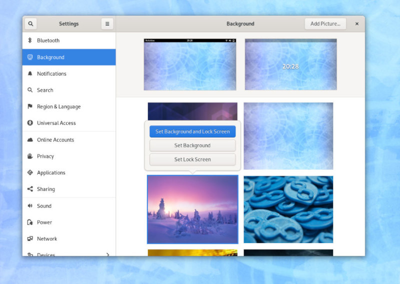Fedora 31 Background