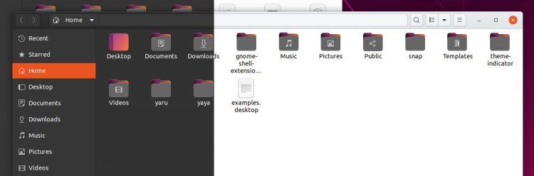 folder exploration