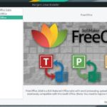 freeoffice in Manjaro Linux