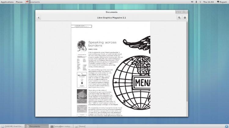 GNOME Clásico en GNOME 3.8