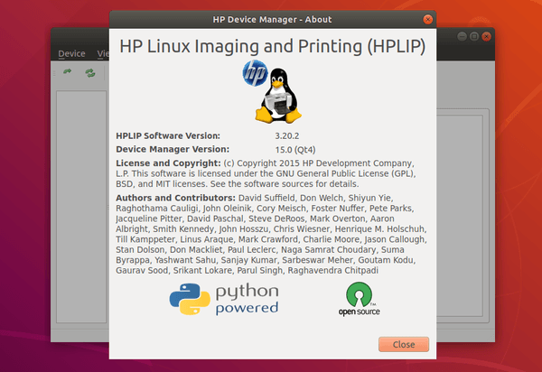 hpdevicemanager