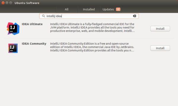 intellij idea ubuntusoftware