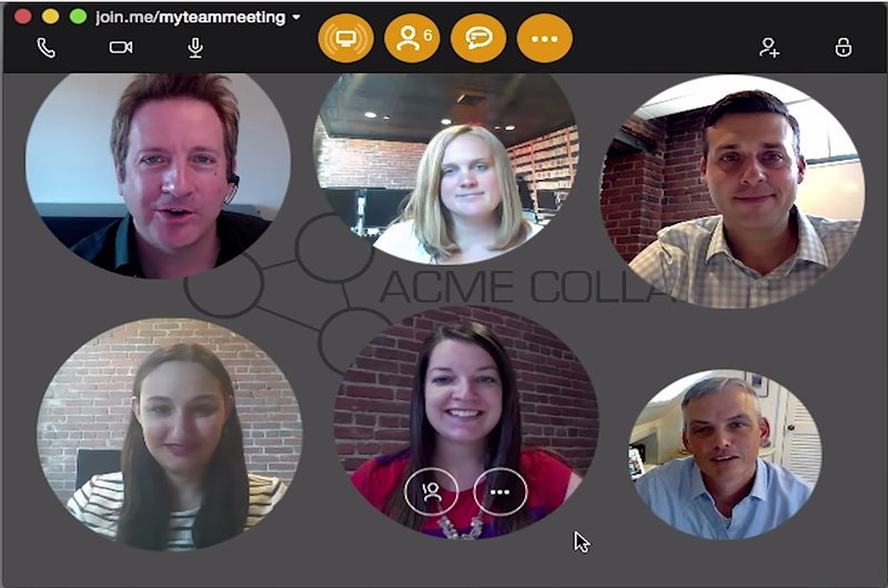Linux video conferencing software Join.me