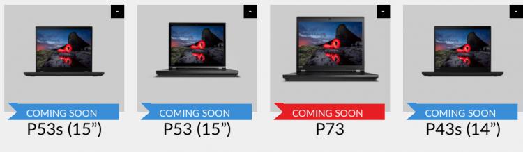 lenovo thinkpad p series laptops