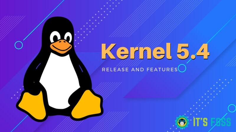 El Kernel De Linux 5.4