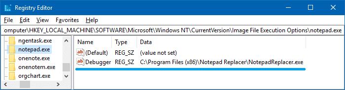 Reemplazar el Bloc de notas con el Notepad++