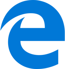 old edge logo transparent