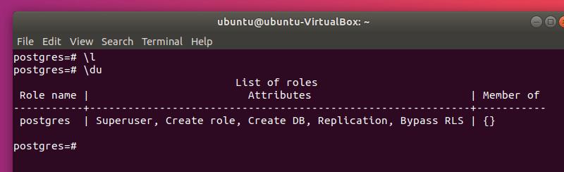 Los Usuarios De PostgreSQL