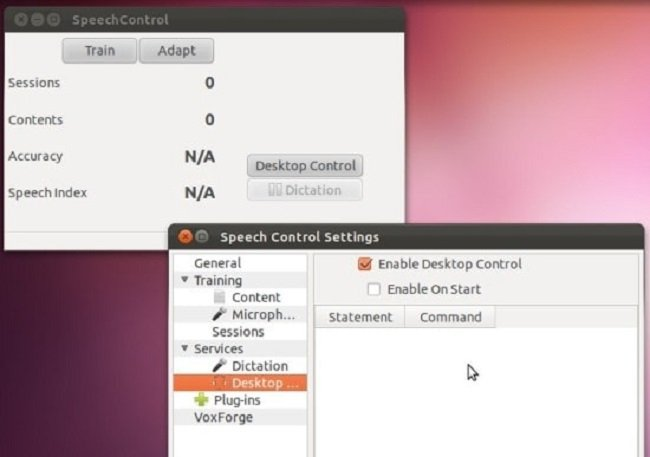 speechcontrol-open source voice recognition