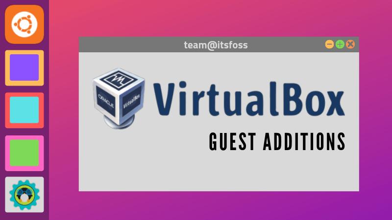 Virtual Box Guest Additions Ubuntu