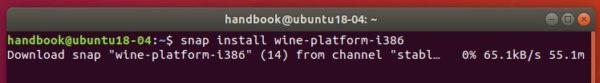 wine platform snap