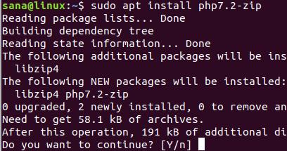 Instalar el Módulo de PHP