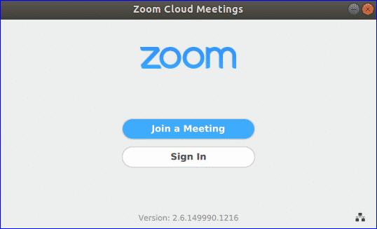 zoom login